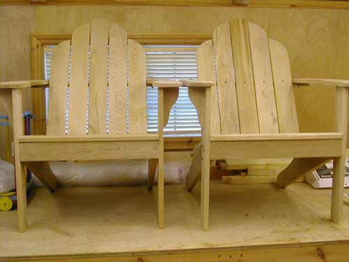 Adirondack nearly finished
