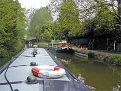 horse drawn narrowboat